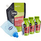 GU Energy Roctane Gel Kombipaket Strawberry Kiwi Vorratsbeutel 480g + 3x32g Gels + Flask